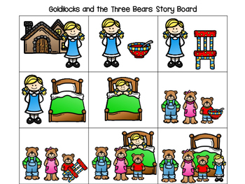 350x263 And The Three Bears Pre K And K Literacy And Math Activities