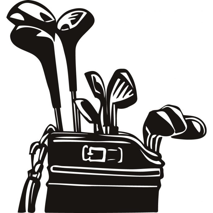 Golf Bag Clipart