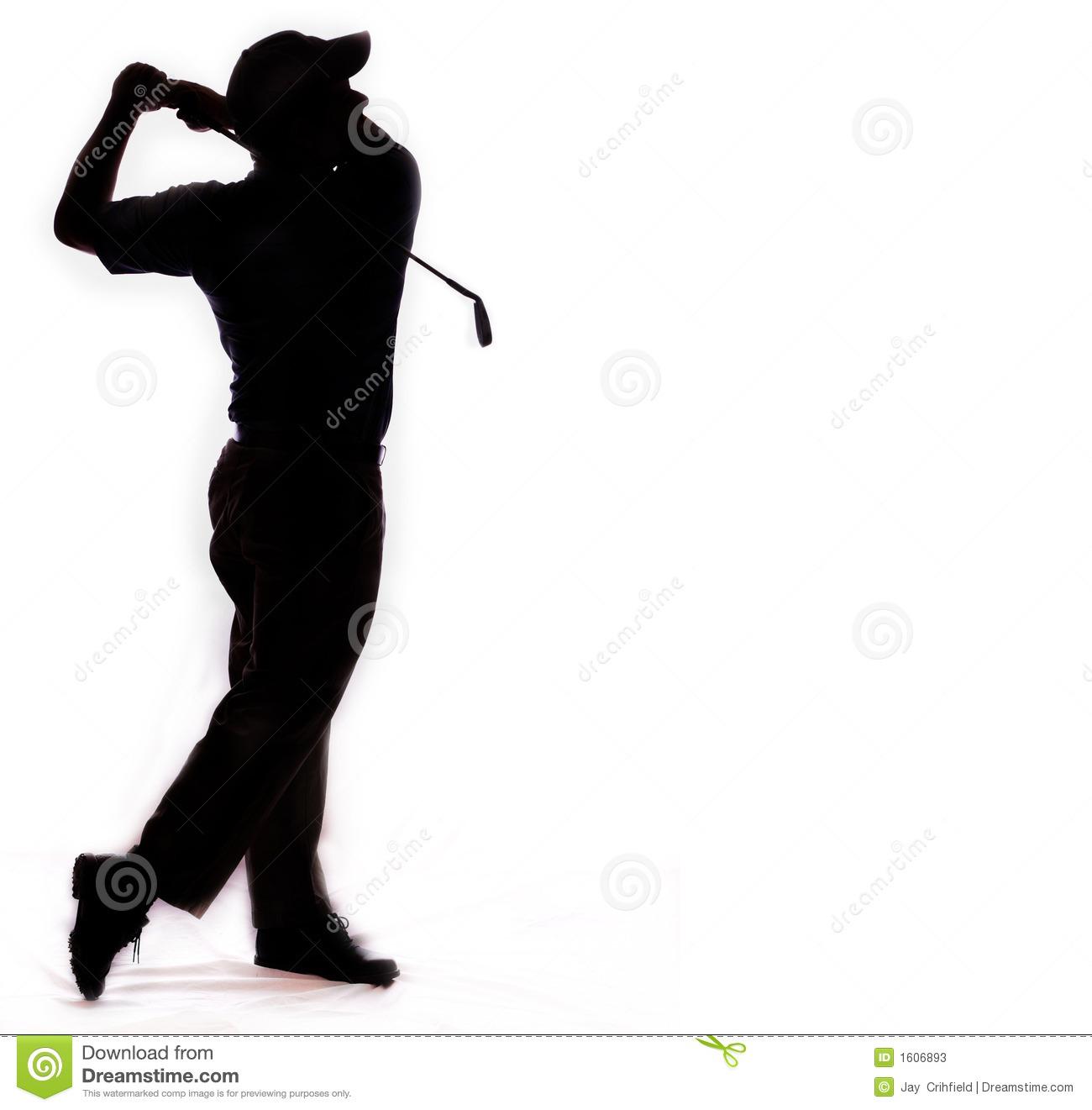 1300x1321 Golf Silhouette Clipart