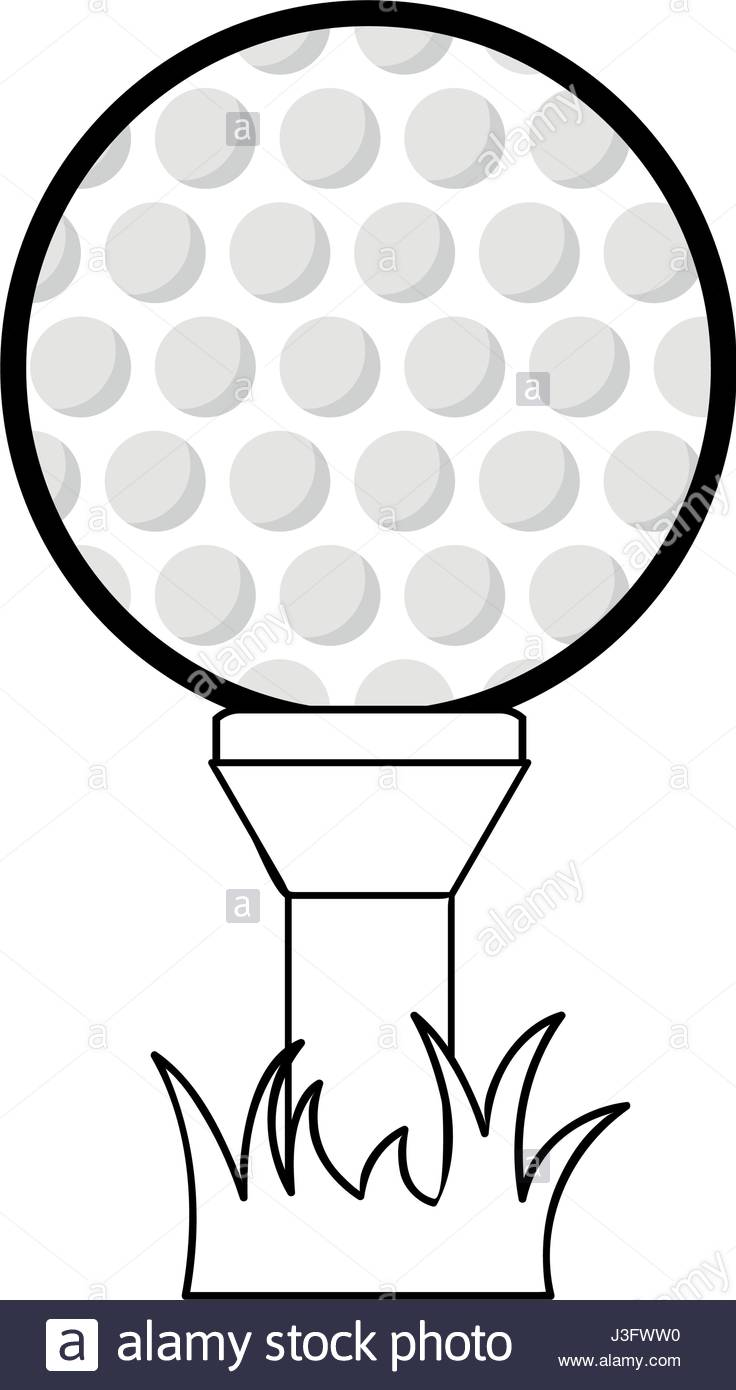 736x1390 Figure Golf Ball To Play Game Stock Vector Art Amp Illustration
