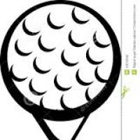 200x200 Golf Ball And Tee Clipart