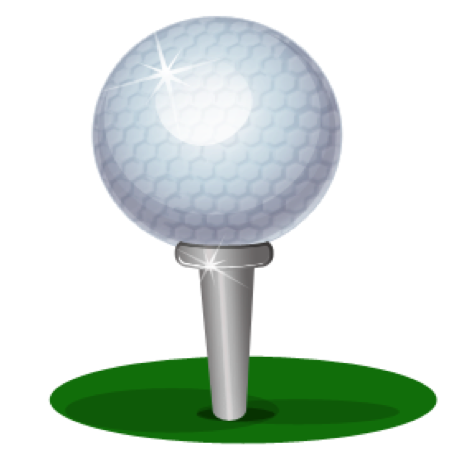 476x451 Golf Ball Clipart Potential Energy