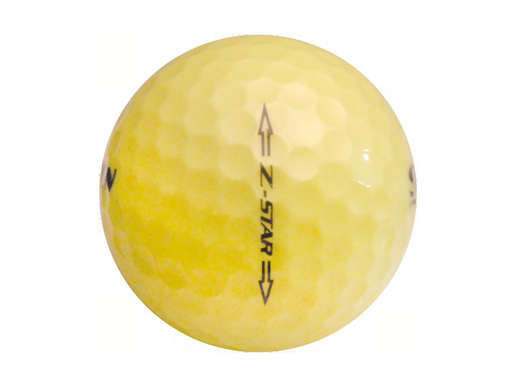 1024x768 Srixon Z Star Tour Yellow Mint And Near Mint Used Golf Balls