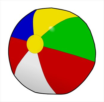 350x341 Clipart Of Ball