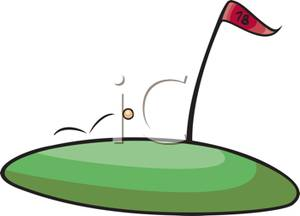 300x216 Golf Ball Cartoons Clipart