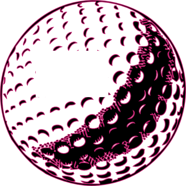 600x599 Golf Ball Clip Art Free Vector Clipart Images 2