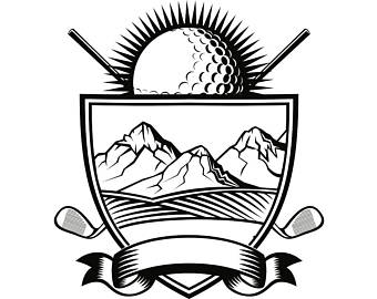 340x270 Golf Ball Svg Etsy