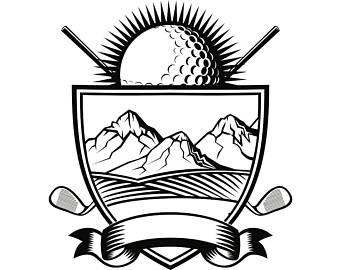 340x270 Golf Ball Svg Etsy