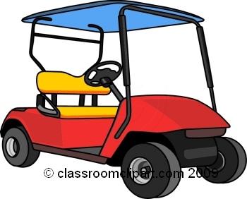 350x282 Golf Course Clipart Golf Cart