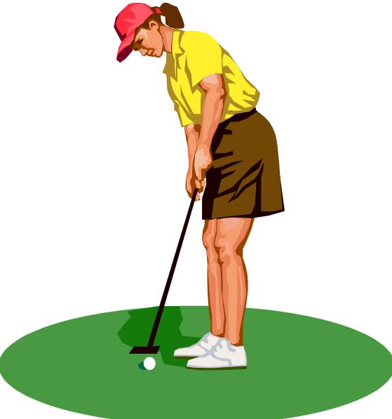 559x597 Girl Golf Clip Art Free Clipart Images