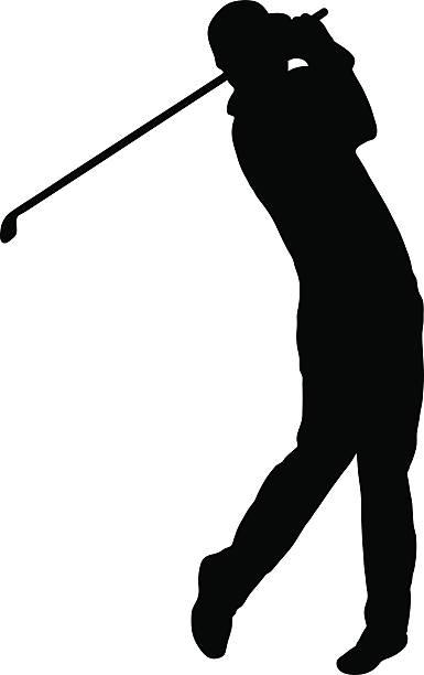 385x612 Golfer Clipart