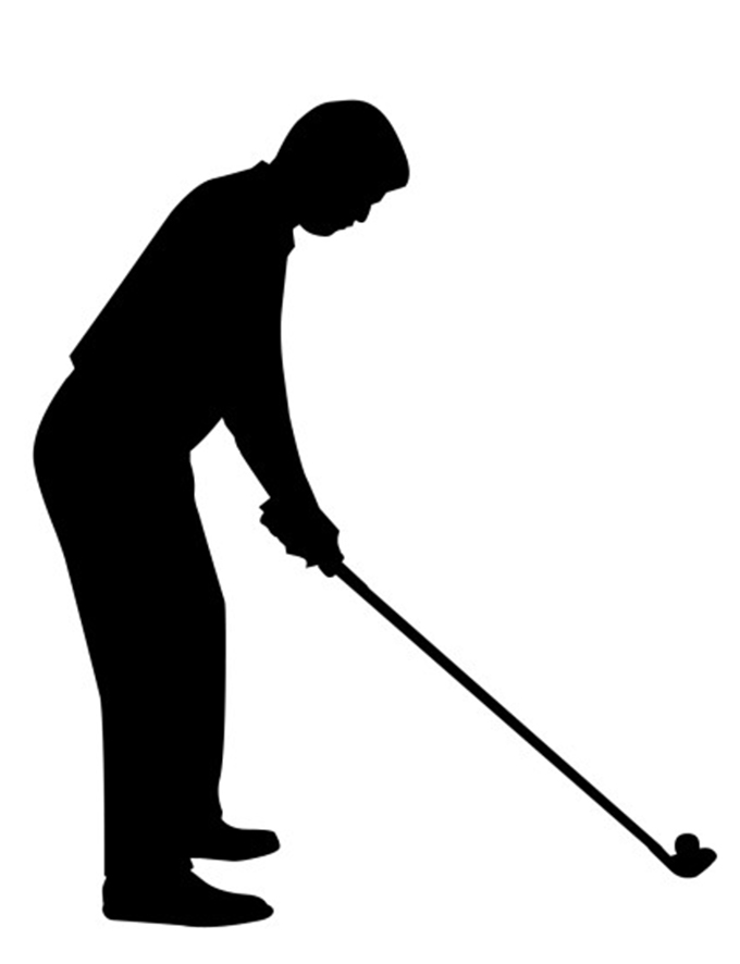 680x886 Golfer girl golf clip art free clipart images image 2
