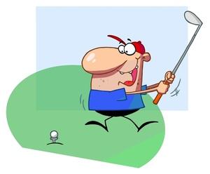 300x248 Golf Clip Art