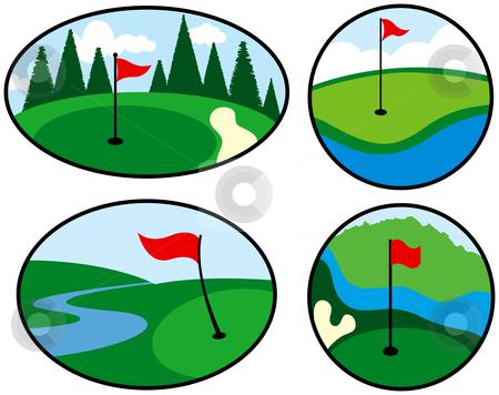 450x356 Golf Clip Art
