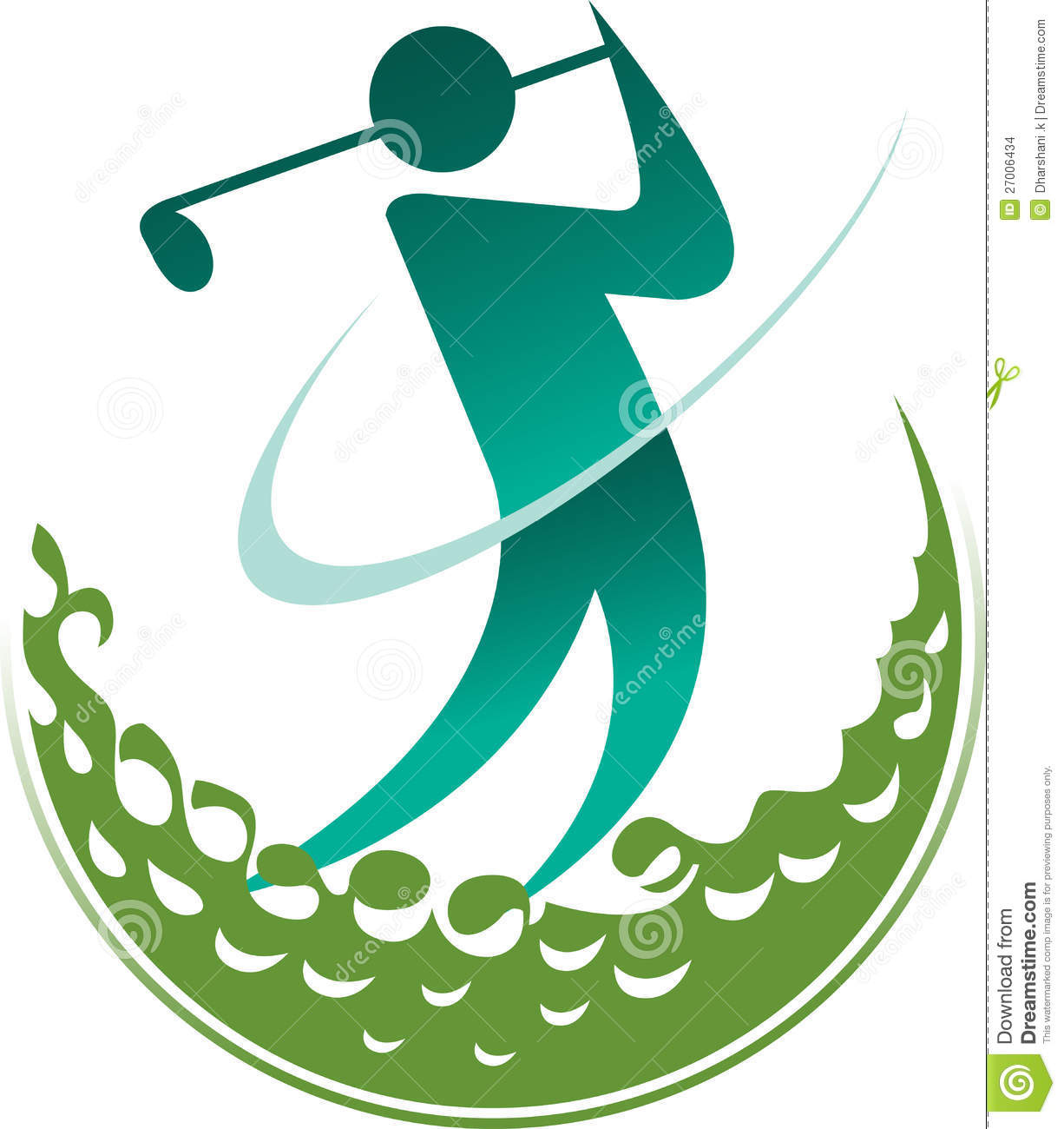 1226x1300 Golf Logos Clipart