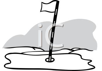 350x245 Royalty Free Golf Clip Art, Sport Clipart