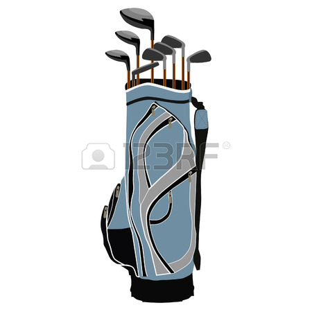 450x450 Golf Bag Royalty Free Cliparts, Vectors, And Stock Illustration