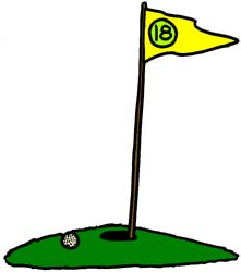 221x250 Golf Course Clipart Animated