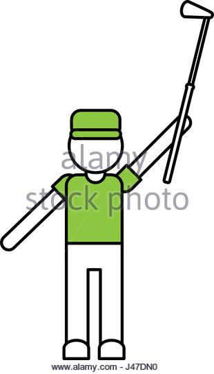 310x540 Golfer Cartoon Stock Photos Amp Golfer Cartoon Stock Images