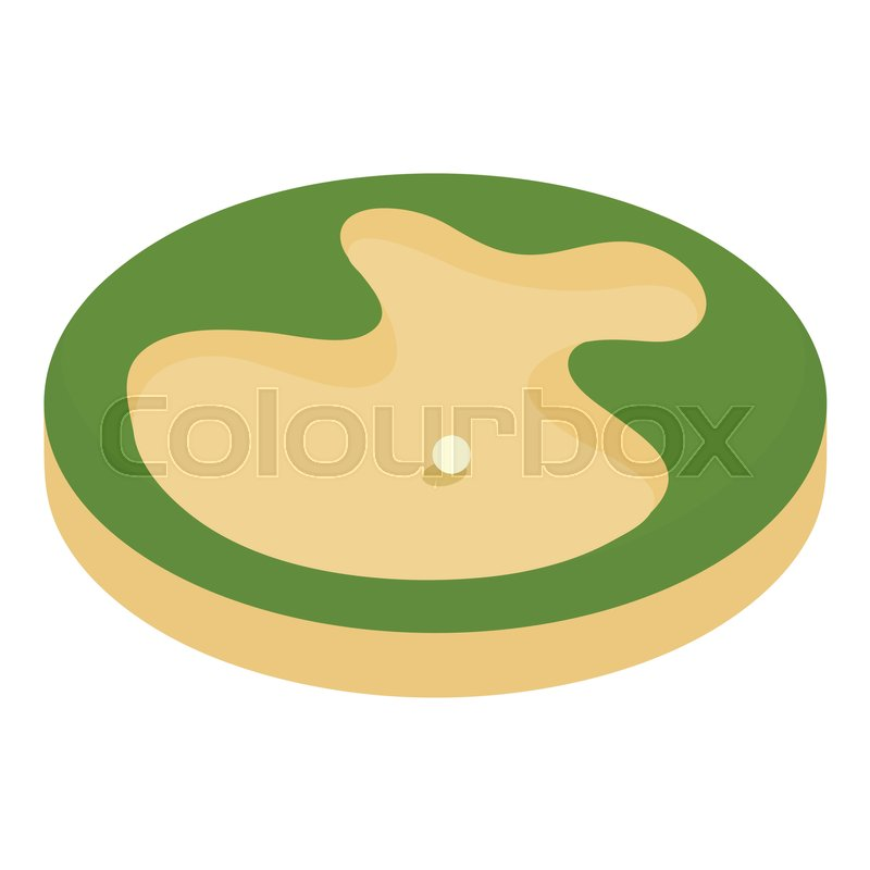800x800 Sand Bunker In The Golf Course Icon. Cartoon Illustration Of Sand