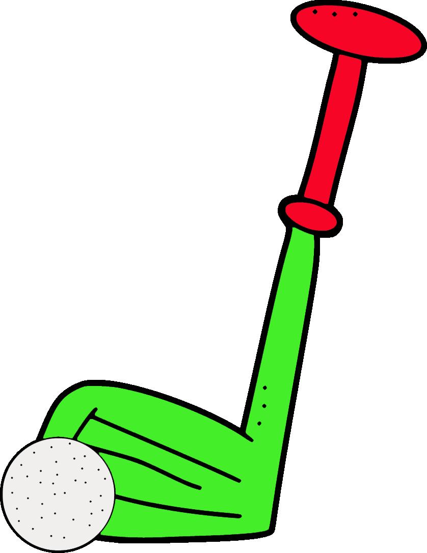 838x1086 Free Golf Club Clipart