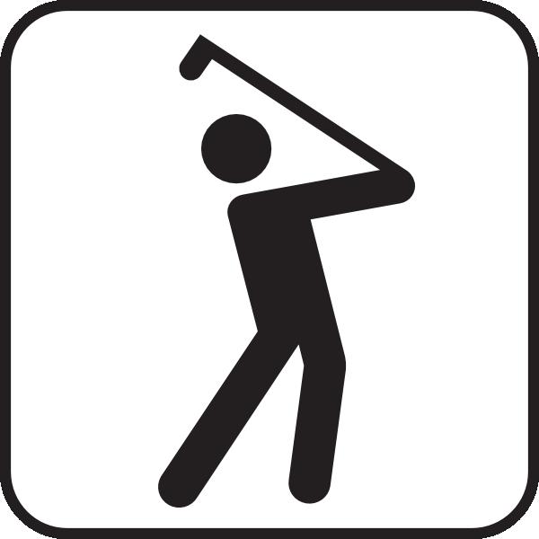 600x600 Golf Club Clipart