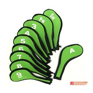 300x300 Golf Club Iron Head Covers Protect X10 Greenlack Zipper Cover
