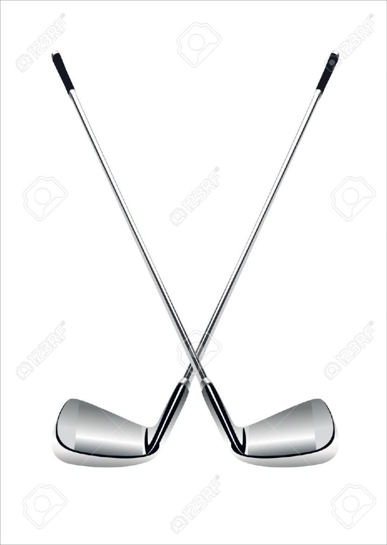 830x1170 Golf Clubs Clipart