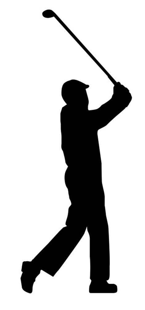 470x1004 Golf Club Silhouette Clipart 2023850