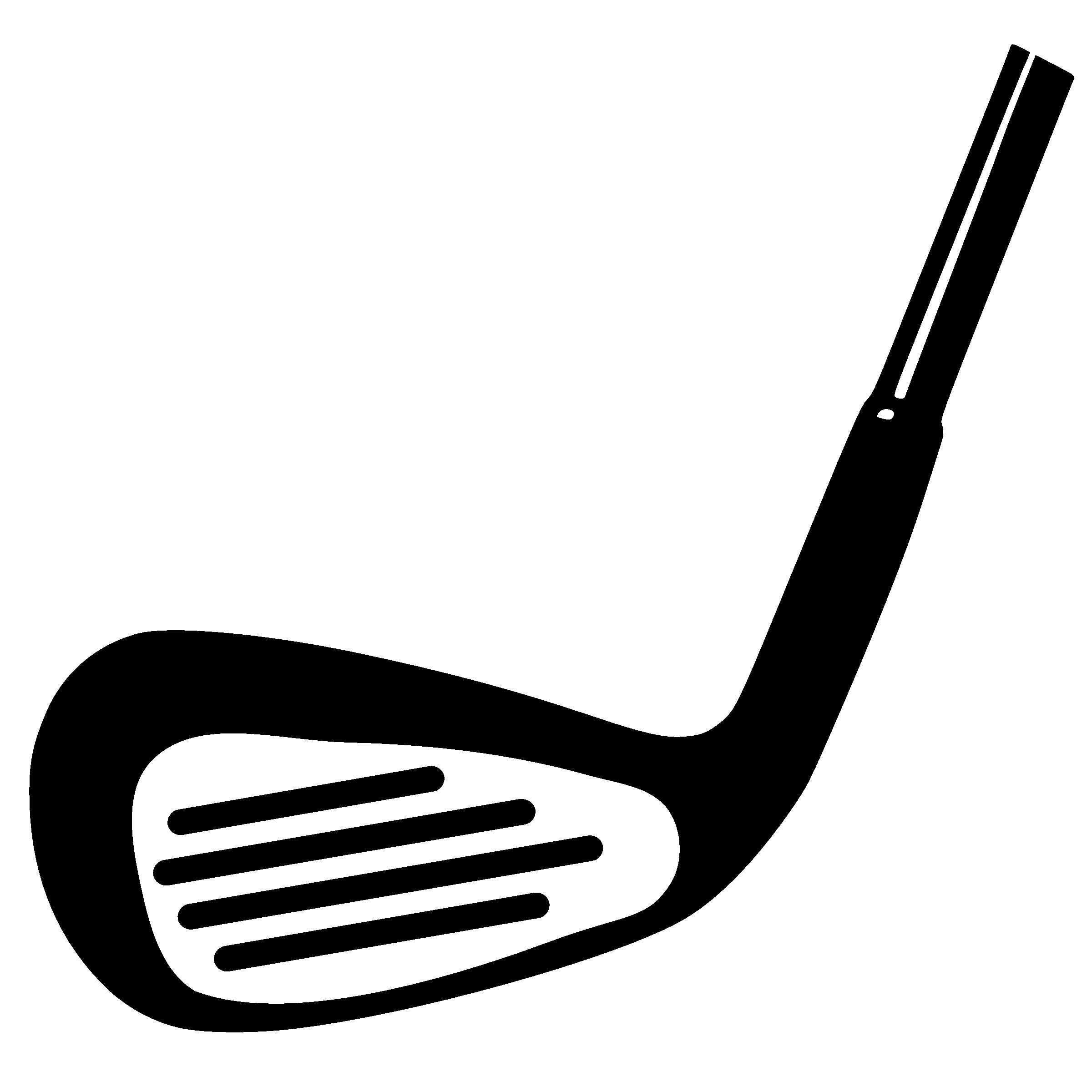 2400x2400 Golf Silhouette Clipart 2