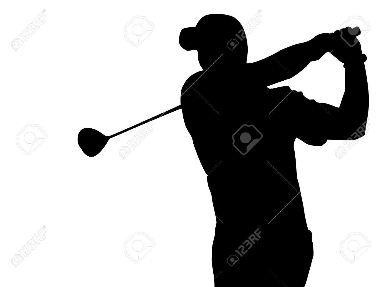 1300x975 Best Golf Silhouette Vector Pictures Free Vector Art, Images