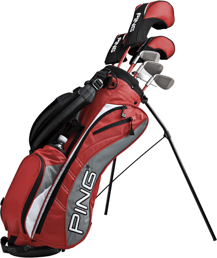 853x1011 Ping Golf Bag Transparent Png