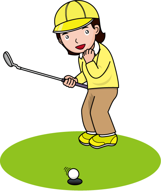 533x633 Golf Clipart Transparent
