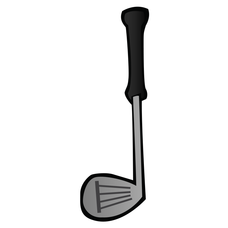800x800 Free Golf Club Clip Art