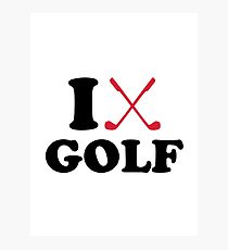 210x230 Crossed Golf Clubs Wall Art Redbubble