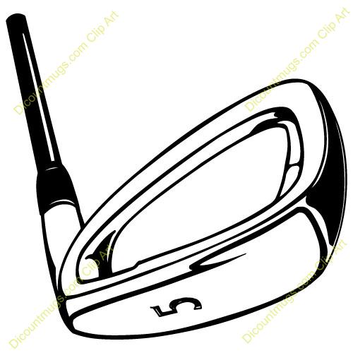 500x500 Golf Course Clipart Golf Equipment