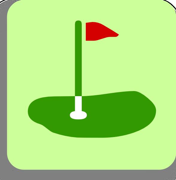 588x599 Golf Clip Art