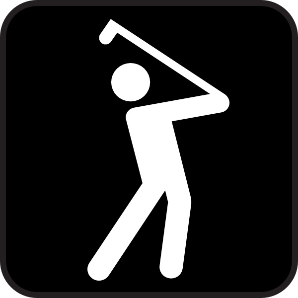 600x600 Golf Course Clip Art Free Vector In Open Office Drawing Svg ( Svg