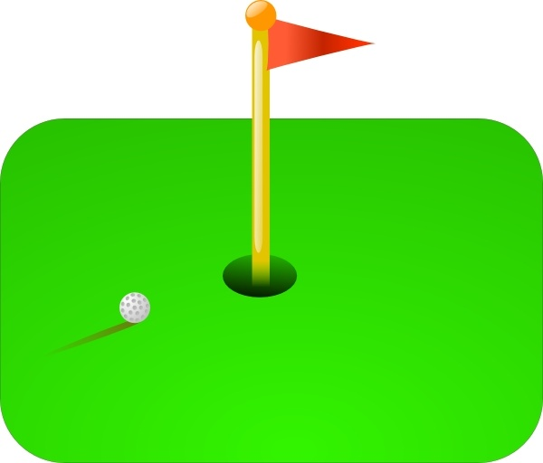 600x512 Golf Flag Clip Art Free Vector In Open Office Drawing Svg ( Svg