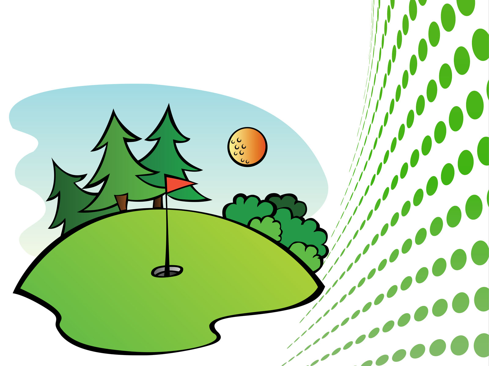 1600x1200 Golf Course Clip Art Free Vector In Open Office Drawing Svg Clip