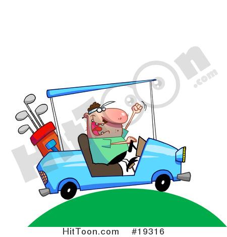 450x470 Golfing Clipart