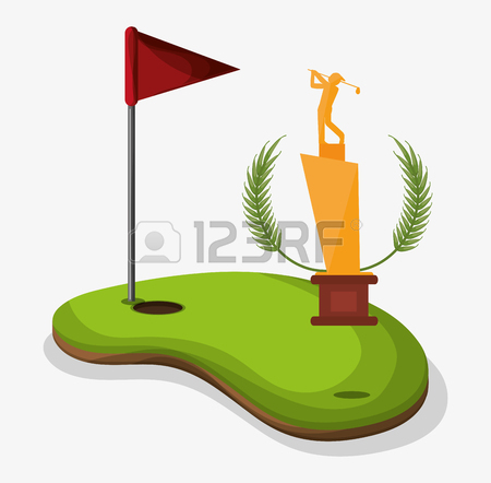 Golf Flag Clipart