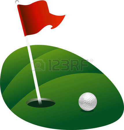 429x450 8,325 Golf Flag Stock Vector Illustration And Royalty Free Golf