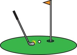 300x215 Golf Team Clipart