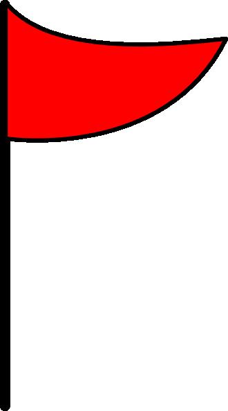 330x593 Golf Flag Clipart