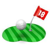 170x170 Stock Illustration Of Golf Course Illustration K2923435