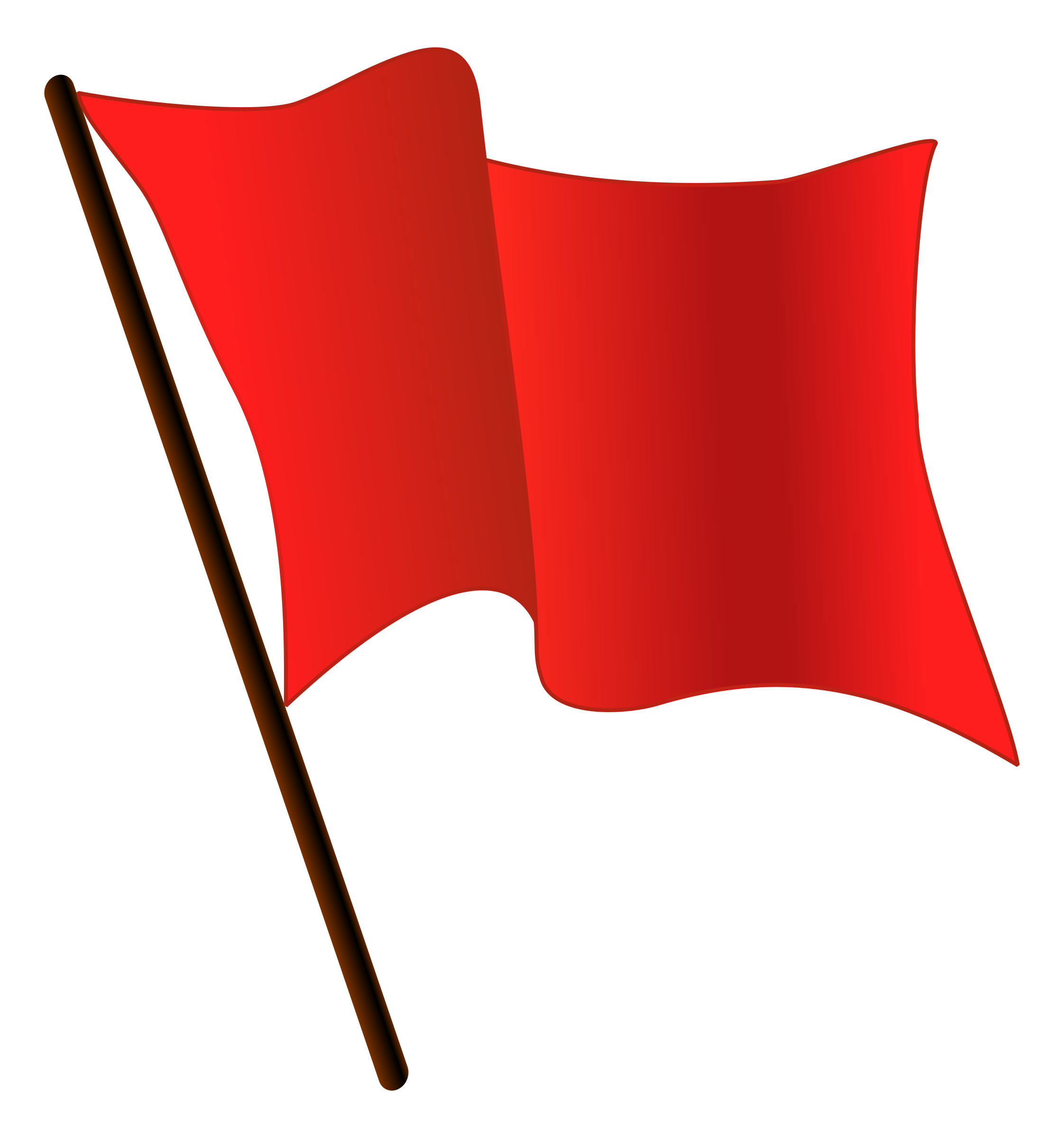 2244x2400 Clipart Red Flag