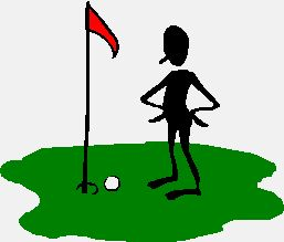 Golf Green Clipart