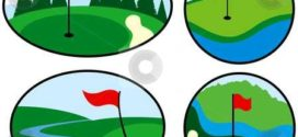 272x125 Golf Course Green Clipart Collection On Golf Course Clip Art