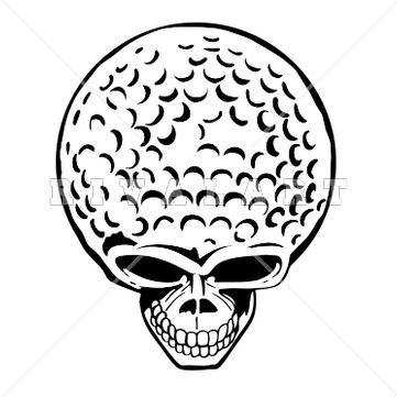 Golf Images Black And White